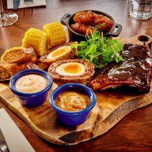 Butcher's sharing platter